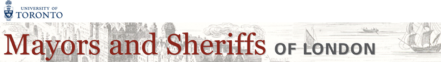 Mayors and Sheriffs of London top banner